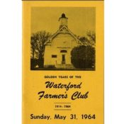 Waterford Farmer's Club History, 1964